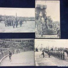 Postales: ESPECTACULAR COLECCION DE LA ACADEMIA DE INFANTERÍA, GABINETE FROTOGRAFICO 1912-13 SIN CIRCULAR. Lote 164902350