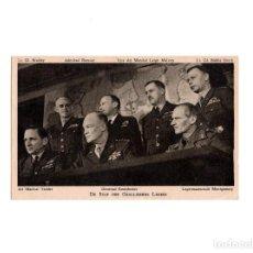 Postales: GENERALES. MARSHAL. EISENHOWER Y MONTGOMERY.. Lote 164971382