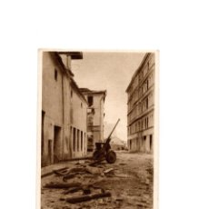 Postales: RIGA.(LETONIA).- DIE WASSERSTR. NACH DEM. KAMPF. CALLE DESPUES DE LA LUCHA. II GUERRA MUNDIAL.. Lote 165043042