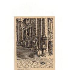 Postales: TUMBA DE JOSE ANTONIO. MONASTERIO DE EL ESCORIAL.. Lote 165048542