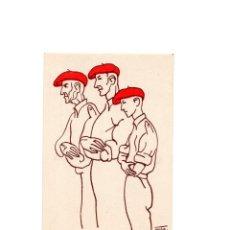 Cartes Postales: TERCIO DE MONTEJURRA, JOSE MARIA DE ERRANDORENA. 60-40-17 AÑOS, AUTORIZADO POR LA J.P.P. DE NAVARRA. Lote 165049754