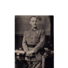 Postales: EL GENERALÍSIMO FRANCO. FOTO JALÓN. Lote 165106566