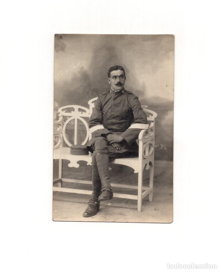 SARGENTO DE CABALLERÍA - POSTAL FOTOGRÁFICA (Postales - Postales Temáticas - Militares)