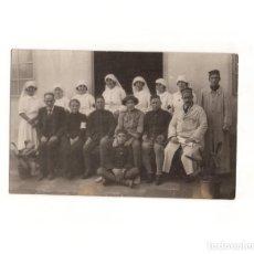 Postales: GRUPO DE SOLDADOS EN HOSPITAL.- POSTAL FOTOGRÁFICA. Lote 165369106