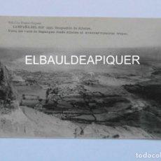 Postales: CAMPAÑA DEL RIF 1921 OCUPACION DE ATLATEN. VISTA DEL VALLE DE SEGANGAN. HAUSER Y MENET. CCTT. Lote 165455094