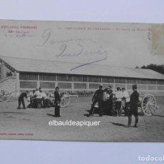 Postales: ARTILLERIA FRANÇAISE 23E. REGIMENT. 48 ARTILLERIE DE CAMPAGNE. AU CHAMP DE MANCEUVRE. CCTT. Lote 165848782