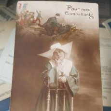 Postales: ANTIGUA POSTAL MILITAR 1 GUERRA MUNDIAL ENFERMERA. Lote 166292918