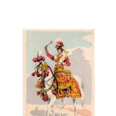 Postales: LES UNIFORMES DU PREMIER EMPIRE. LANCIERS POLONAIS DE LA GARDE. TIMBALIER.. Lote 167010116