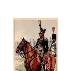 Postales: LES UNIFORMES DU PREMIER EMPIRE. LE 1º CHASSEURS Á CHEVAL. SUITE.. Lote 167010932