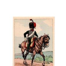 Postales: LES UNIFORMES DU PREMIER EMPIRE. LE 1º CHASSEURS Á CHEVAL. SUITE.. Lote 167011216