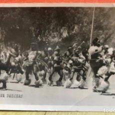 Postales: FOTOGRAFICA ZULU WAR DANCERS SURAFRICA GUERRA INGLATERRA ZULU TRIBU BATALLA AFRICANOS NATIVOS . Lote 168404096