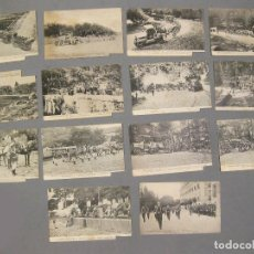 Postales: LOTE DE 14 POSTALES DEL REGIMIENTO DE ARTILLERÍA PESADA. SEGOVIA.. Lote 170019744