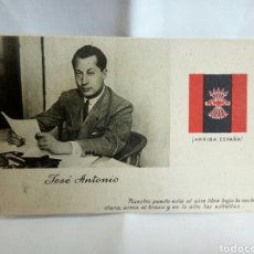 Postales: TARJETA POSTAL /JOSÉ ANTONIO/FALANGE. Lote 170431840
