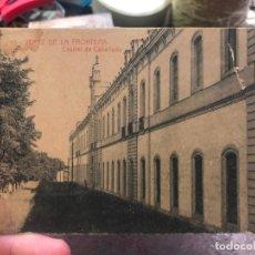 Postales: POSTAL JEREZ DE LA FRONTERA - CUARTEL DE CABALLERIA. Lote 172064180
