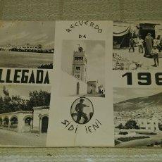 Postales: MUY RARA POSTAL RECUERDO DE SIDI IFNI MI LLEGADA 1967 MIREN FOTOS. Lote 172225585