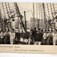 Postales: POSTAL ESTEREOSCOPICA - MILITAR FRANCESA. A FAIRE LE TOUR DE BARRE - MONTEZ ! SIN CIRCULAR. Lote 173190484