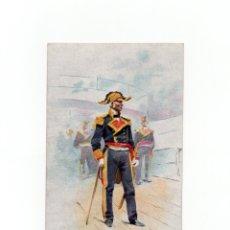 Postales: POSTAL ILUSTRADA POR J. CUSACHS DE 1902. ED. THOMAS. SOLDADO. MILITAR ESPAÑOL. . Lote 175133648