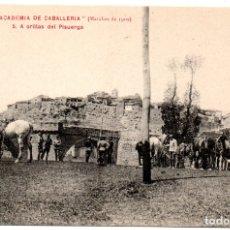 Postales: PS8208 COLECCIÓN ACADEMIA DE CABALLERÍA \'MARCHAS 1909 A ORILLAS DEL PISUERGA\'. PRINC. S. XX. Lote 176262378
