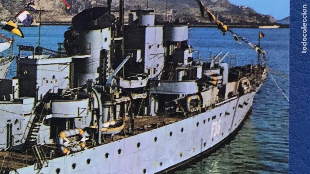 Postales: cartagena fragatas en el puerto sin circular ediciones arribas Murcia barco militar foto postal - Foto 3 - 176994409
