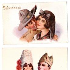 Postales: 16 POSTALES MILITARES,LEGIONARIO Y SOLDADO DE INFANTERIA,GUERRA DE AFRICA,AÑOS 20,SIN CIRCULAR.RARAS. Lote 177412119