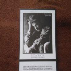 Postales: CUADERNILLO CON 4 POSTALES GUERRA CROACIA FACES OF WAR BLANCO Y NEGRO. Lote 178653240