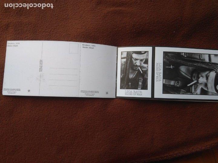 Postales: CUADERNILLO CON 4 POSTALES GUERRA CROACIA FACES OF WAR BLANCO Y NEGRO - Foto 2 - 178653240