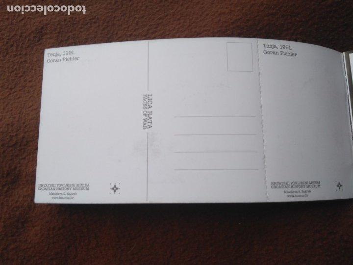 Postales: CUADERNILLO CON 4 POSTALES GUERRA CROACIA FACES OF WAR BLANCO Y NEGRO - Foto 4 - 178653240