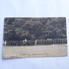 Postales: CONGO FRANCÉS. REVISIÓN DE LAS TROPAS A MOBAYE. SIN CIRCULAR.. Lote 179559266