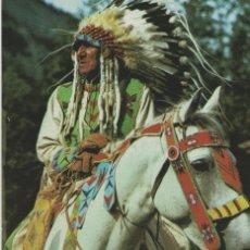 Postales: POSTALES POSTAL TEMA INDIOS CANADA AÑOS 60-70. Lote 180103668
