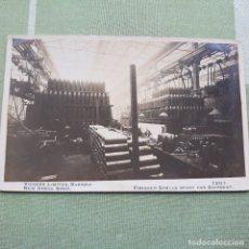 Postales: ANTIGUA FOTO-POSTAL DE BOMBAS LISTAS PARA SER EMBARCADAS. DE LA CASA VICKERS. SIN CIRCULAR.. Lote 180149436
