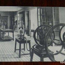 Postales: POSTAL DE LA ACADEMIA ARTILLERIA, SEGOVIA, GABINETE DE FISICA, N.10, ED. HAUSER Y MENET, NO CIRCULAD. Lote 180222852