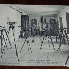 Postales: POSTAL DE LA ACADEMIA ARTILLERIA, SEGOVIA, GABINETE DE TOPOGRAFIA, N.11, ED. HAUSER Y MENET, NO CIRC. Lote 180223003