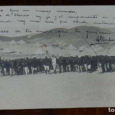 Postales: FOTO POSTAL DEL REGIMIENTO CAZADORES DE ALCANTARA, 14 DE CABALLERIA, ESCRITA POR EL REVERSO Y DIRIGI. Lote 180224746