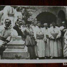 Postales: FOTO POSTAL DE CRIADOS VESTIDOS DE LEGOS EN LA BODA DE MIMI MERITO, AÑO 1916, NO CIRCULADA, ESCRITA. Lote 180226343