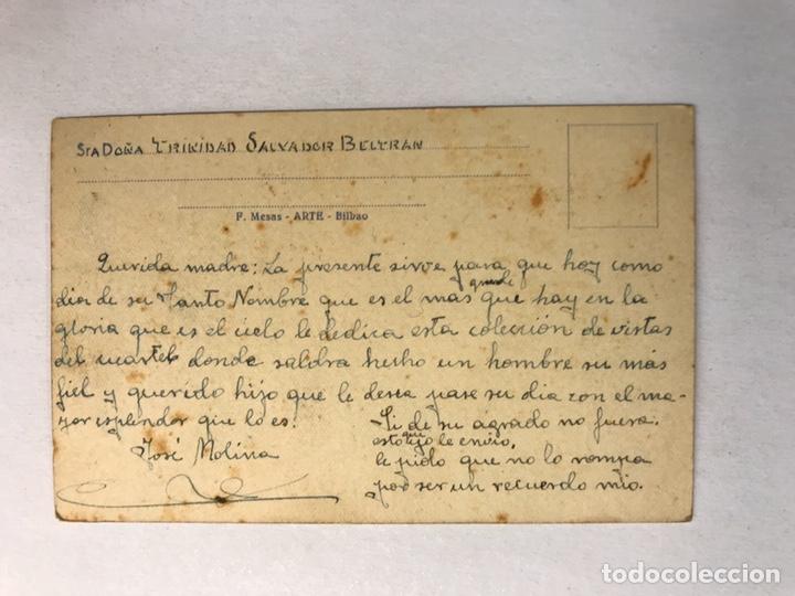 Postales: LORCA (Murcia) Postal. Regimiento de infantería Mallorca No.13, Fachada principal (h.1940?) - Foto 2 - 180333335