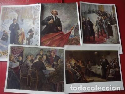 Postales: LOTE POSTAL LENIN, URSS, 1966 25 UD - Foto 4 - 180345813