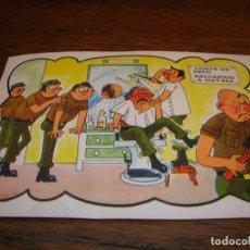 Postales: SIMPÁTICA POSTAL DE SOLDADOS,. Lote 180415757