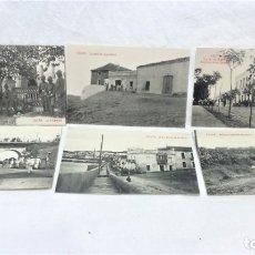 Postales: CEUTA. 6 ANTIGUAS POSTALES MILITARES Y VISTAS.FOTOTIPIA CASTAÑEIRA Y ALVAREZ.MADRID. Lote 181743348