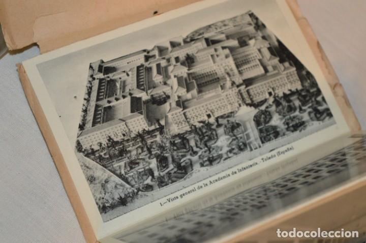 Postales: RECUERDO de la ACADEMIA de INFANTERÍA - Antigua carpeta / bloc - Original - 20 Postales ¡Mira! - Foto 4 - 181956291