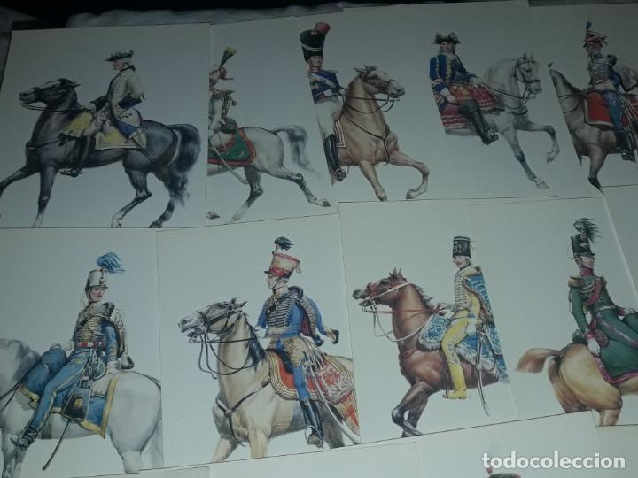 Postales: Bello lote de 20 antiguas postales Uniformes históricos año 1969 Edition Korschk - Foto 2 - 182545738