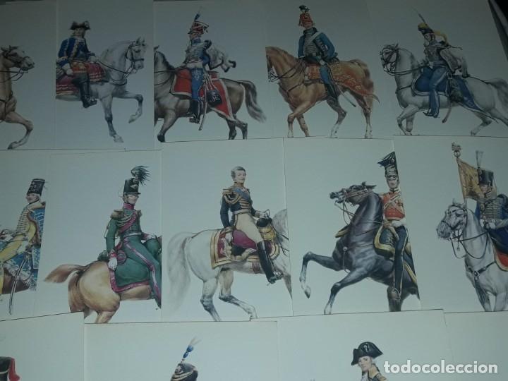 Postales: Bello lote de 20 antiguas postales Uniformes históricos año 1969 Edition Korschk - Foto 3 - 182545738
