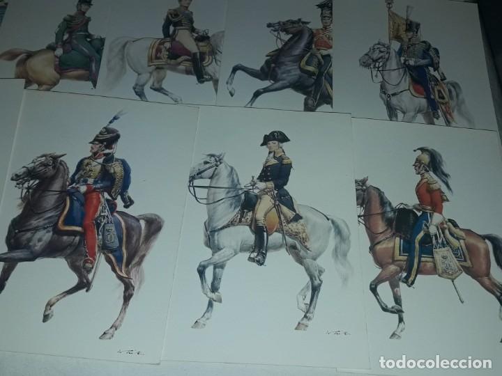 Postales: Bello lote de 20 antiguas postales Uniformes históricos año 1969 Edition Korschk - Foto 4 - 182545738
