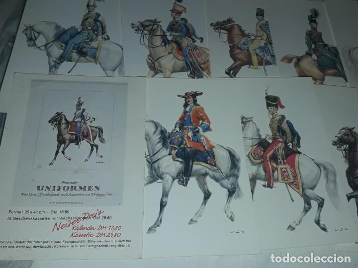Postales: Bello lote de 20 antiguas postales Uniformes históricos año 1969 Edition Korschk - Foto 5 - 182545738
