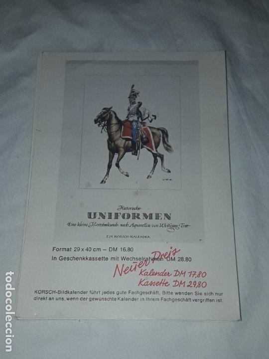 Postales: Bello lote de 20 antiguas postales Uniformes históricos año 1969 Edition Korschk - Foto 7 - 182545738
