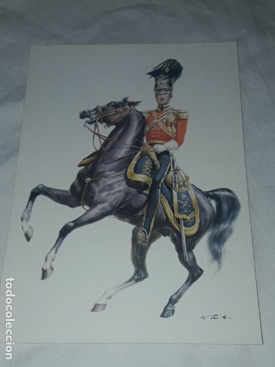 Postales: Bello lote de 20 antiguas postales Uniformes históricos año 1969 Edition Korschk - Foto 9 - 182545738