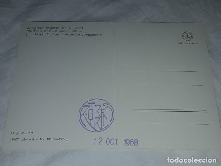 Postales: Bello lote de 20 antiguas postales Uniformes históricos año 1969 Edition Korschk - Foto 10 - 182545738