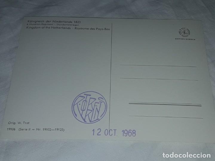 Postales: Bello lote de 20 antiguas postales Uniformes históricos año 1969 Edition Korschk - Foto 12 - 182545738