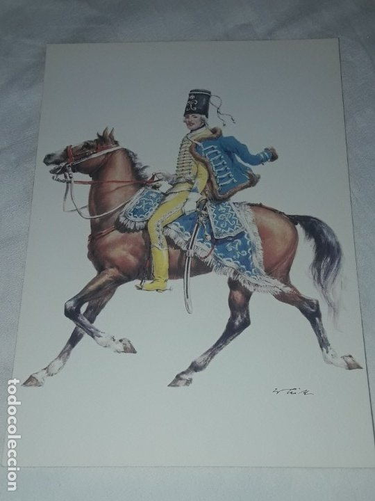 Postales: Bello lote de 20 antiguas postales Uniformes históricos año 1969 Edition Korschk - Foto 13 - 182545738