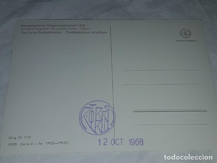 Postales: Bello lote de 20 antiguas postales Uniformes históricos año 1969 Edition Korschk - Foto 16 - 182545738
