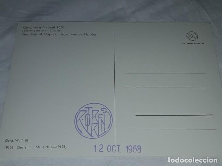 Postales: Bello lote de 20 antiguas postales Uniformes históricos año 1969 Edition Korschk - Foto 18 - 182545738